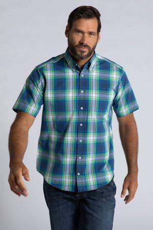 JP1880 Grote Maten Geruit Overhemd, Heren