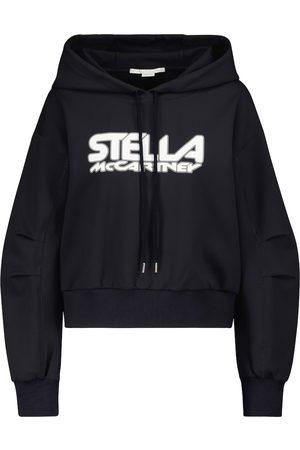Stella McCartney Logo scuba hoodie