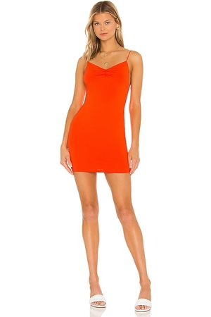 superdown Dia Ruched Mini Dress in