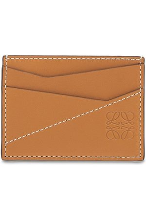 Loewe Heren Portefeuilles - Puzzle Stitches Leather Card Holder