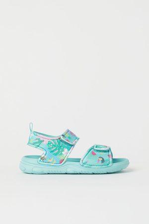 H&M Meisjes Schoenen - Sandalen - Turquoise