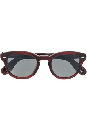 Oliver Peoples Marble-effect sunglasses