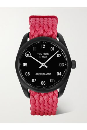 Tom Ford 002 40mm Ocean Plastic Watch