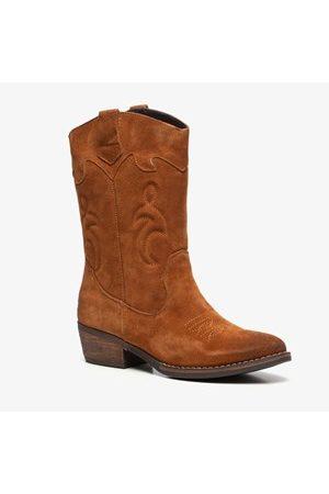 TwoDay Dames Cowboy Boots - Suede dames western laarzen