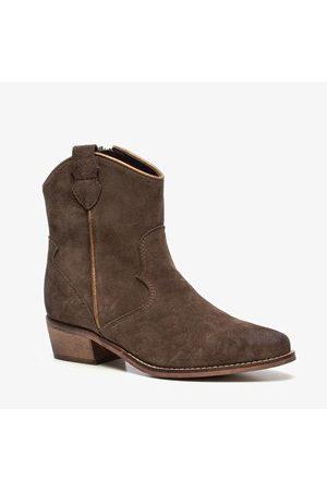 TwoDay Dames Cowboy Boots - Suede dames western laarsjes