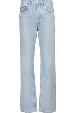 AGOLDE Lana mid-rise straight jeans