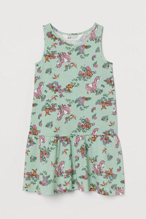 H&M Tricot jurk met dessin