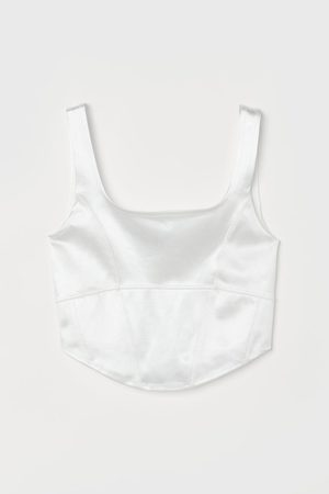 H & M Cropped bustier