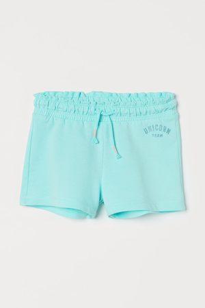 H & M Sweatshort - Turquoise