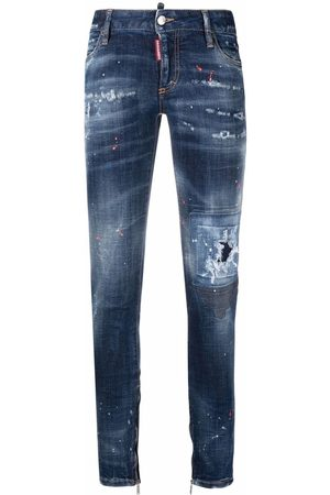 Dsquared2 Made with Love Spots skinny jeans
