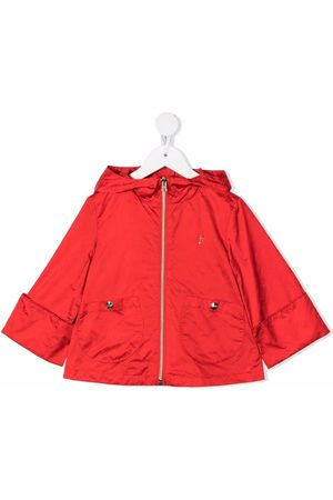 HERNO Monogram-print lightweight hooded jacket