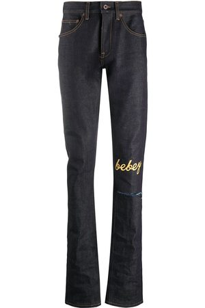 Off-White Heren Slim - X Theophilus London bebey selvedge jeans