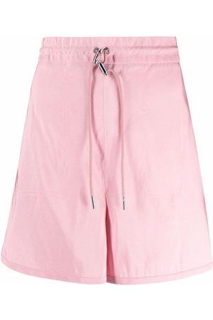 Alexander McQueen Exploded high-waisted shorts