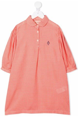 The Animals Observatory Gingham-check print shirt