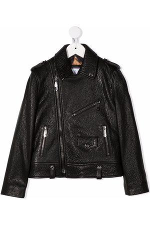 Philipp Plein Iconic Plein biker jacket