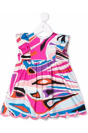 Emilio Pucci Abstract-print mini dress