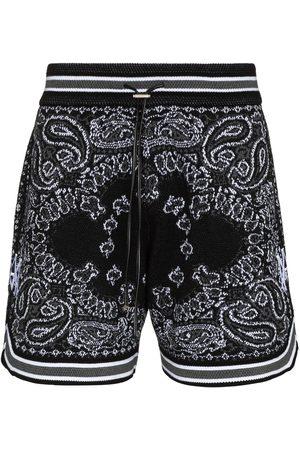 AMIRI Heren Korte broeken - Bandana drawstring shorts