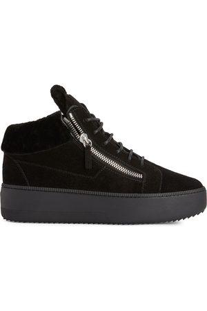 Giuseppe Zanotti Kriss suede platform sneakers