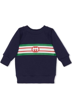 Gucci Interlocking G logo-print sweatshirt