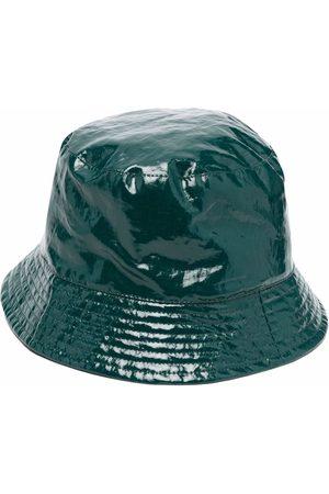 Isabel Marant Logo-patch metallic bucket hat