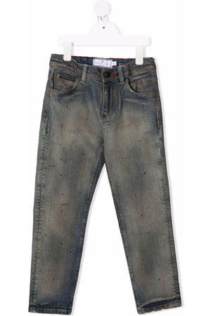 Philipp Plein Skull mid-rise straight jeans