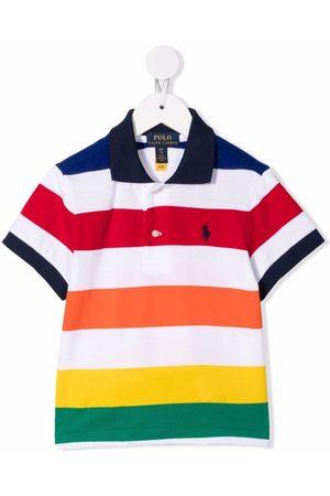 Ralph Lauren Kids Meisjes Poloshirts - Striped cotton polo shirt