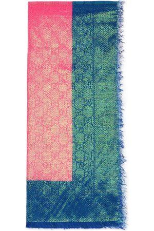 Gucci GG Supreme iridescent scarf