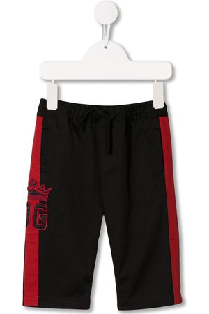 Dolce & Gabbana Logo embroidered track pants