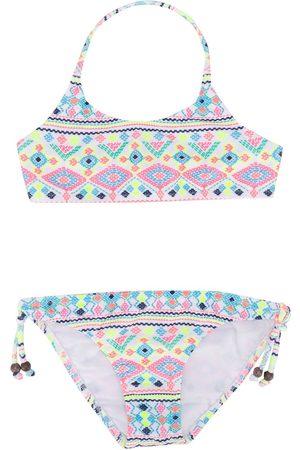 SUNUVA Geometric print bikini set