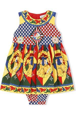Dolce & Gabbana Meisjes Casual jurken - Geometric-print dress