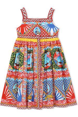 Dolce & Gabbana Meisjes Feestjurken - Graphic-print dress