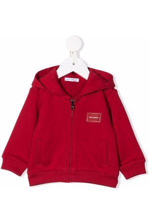 Dolce & Gabbana Logo-patch cotton jacket