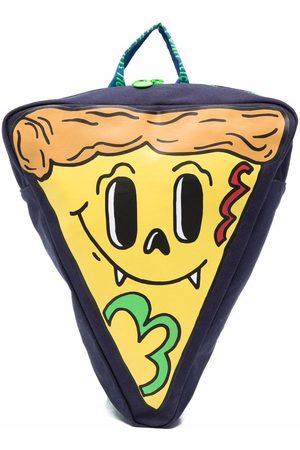 Stella McCartney Pizza Slice canvas backpack