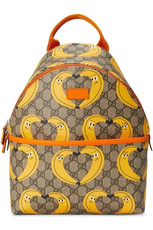 Gucci Jongens Rugzakken - X Nina Dzyvulska motif-print backpack