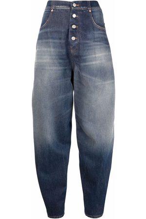 MM6 MAISON MARGIELA Two-tone high-waist jeans
