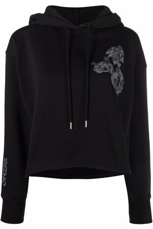 Kenzo Dames Pullovers - Cropped pullover hoodie