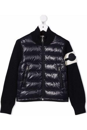 Moncler Jongens Bomberjacks - Padded bomber jacket