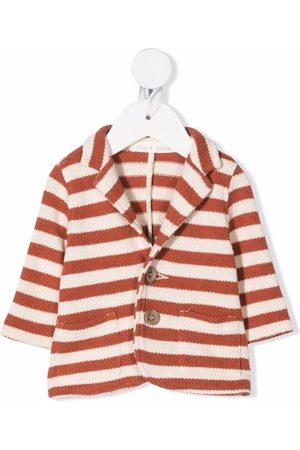 Zhoe & Tobiah Striped knit blazer