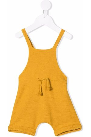 Zhoe & Tobiah Knitted dungaree cotton shortie