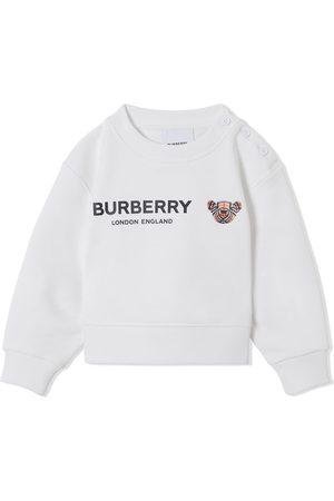 Burberry Thomas Bear logo-print sweatshirt