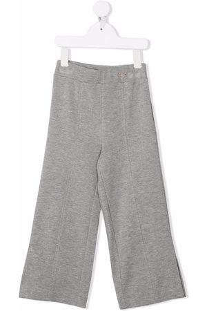 MONNALISA Wide-leg slip-on trousers