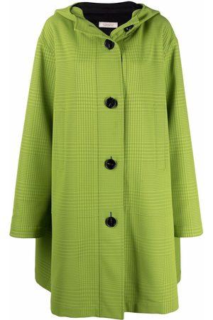 Nina Ricci Hooded single-breasted coat