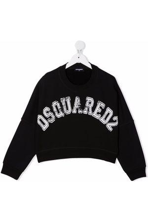Dsquared2 Meisjes Sweaters - Logo crew-neck sweatshirt