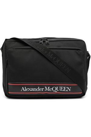 Alexander McQueen Logo-print shoulder bag