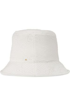 Gucci GG cable-knit fedora hat