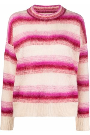 Isabel Marant Dames Gebreide truien - Drussell striped knit jumper