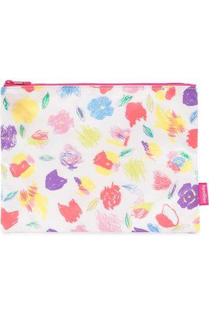 Familiar Floral-print clutch bag