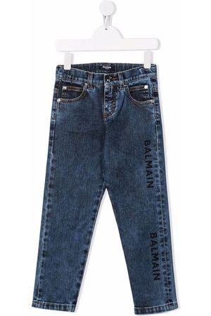 Balmain High-rise slim-fit jeans