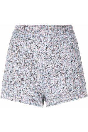 M Missoni Chunky-knit shorts