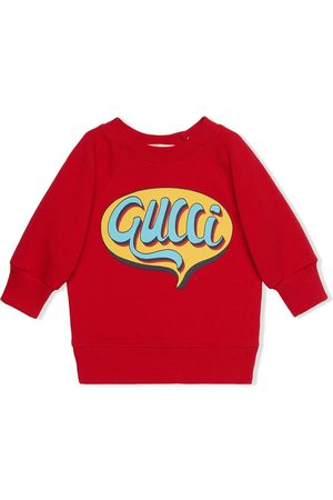 Gucci Jongens Sweaters - Comics logo sweatshirt